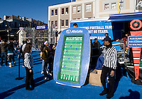 Sugar Bowl Fan Fest 2012 in the French Quarters in New Orleans, Louisiana on January 2nd, 2012.