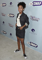 "HOLLYWOOD - OCTOBER 5:  Yara Shahidi at the Los Angeles premiere of ""The Swap"" at ArcLight Hollywood on October 5, 2016 in Hollywood, California. Credit: mpi991/MediaPunch"