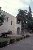 The Museo Nacional de las Intevenciones or National Interventions Museum in Coyoacan. Mexico City