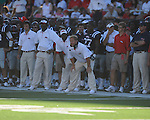 at Vaught-Hemingway Stadium in Oxford, Miss. on Saturday, September 4, 2010. Jacksonville State won 49-48 in double overtime.