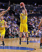 The University of Michigan men's basketball team lost 65-60 to Ohio University in the second round of the NCAA Tournament at Bridgestone Arena in Nashville, Tenn., on March March 16, 2012.