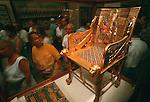 Tutankhamun,Golden throne, Egyptian Museum, Cairo