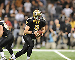 New Orleans Saints quarterback drew Brees (9) vs. New York Giants at the Superdome in New Orleans, La. on Monday, November 28, 2011. New Orleans won 49-24.