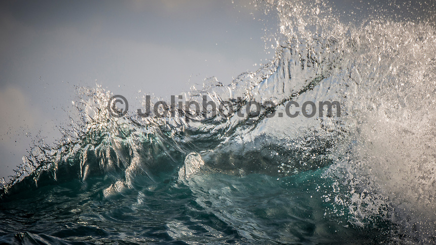 Namotu Island Resort, Nadi, Fiji (Tuesday, March 7 2017): The wind had backed off this morning, though it was still coming out of the out of the NW. There had been a big jump in the swell overnight with 4'- 6' south swell pushing through Lefts and Wilkes. Swimming Pools was in the 3' plus range. Guest took advantage of the better conditions surfing all three breaks and also a trip to Cloudbreak. Photo: joliphotos.com