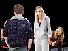 People, Places and Things <br /> by Duncan Macmillan <br /> directed by Jeremy Herrin <br /> at the Dorfman Theatre, NT, Southbank, London, Great Britain <br /> press photocall <br /> 28th August 2015 <br /> <br /> Denise Gough <br /> <br /> Sally George <br /> <br /> Jacob James Beswick <br /> <br /> <br /> Photograph by Elliott Franks <br /> Image licensed to Elliott Franks Photography Services