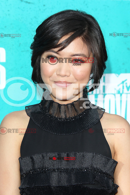 Jessica Lu at the 2012 MTV Movie Awards held at Gibson Amphitheatre on June 3, 2012 in Universal City, California. ©mpi29/MediaPunch Inc.
