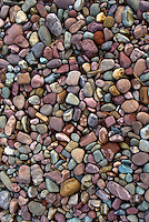 Colorful rocks, Lake McDonald, Glacier National Park