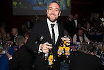 St Johnstone FC Scottish Cup Celebration Dinner at Perth Concert Hall...01.02.15<br /> Lee Croft<br /> Picture by Graeme Hart.<br /> Copyright Perthshire Picture Agency<br /> Tel: 01738 623350  Mobile: 07990 594431