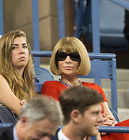ANNA WINTOUR - CELEBRITY<br /> The US Open Tennis Championships 2014 - USTA Billie Jean King National Tennis Centre -  Flushing - New York - USA -   ATP - ITF -WTA  2014  - Grand Slam - USA  25th August 2014. <br /> <br /> &copy; AMN IMAGES