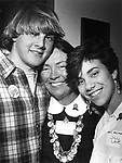Penny poses with the Lave children, Reynie and Jillduring a 1985 campaign event for her first city council run. <br />