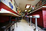 "The White Flash, a diner in downtown Jackson, Ky., has been open since 1939. ""There's a lot of history in here,"" said Owner Mary Lou Campbell on Thursday, Oct. 13, 2011. Photo by Tessa Lighty"