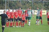 VOETBAL: JOURE: Sportpark Hege Simmerdyk, 04-10-2015, SC Joure zondag- V Heerenveen, Eindstand 1-1, ©foto Martin de Jong