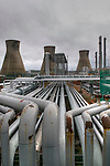 Grangemouth Scotland Jan 30 Staff at Ineos Grangemouth Scotland's only crude oil refinery join  dispute over the use of foreign workers<br /> <br /> <br /> ***Standard Licence  Fee's Apply To All Image Use***<br /> XianPix Pictures  Agency <br />  tel +44 (0) 845 050 6211<br />  e-mail sales@xianpix.com <br /> www.xianpix.com