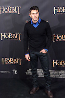 "Ruben Sanz attends  ""The Hobbit: An Unexpected Journey"" premiere at the Callao cinema- Madrid."