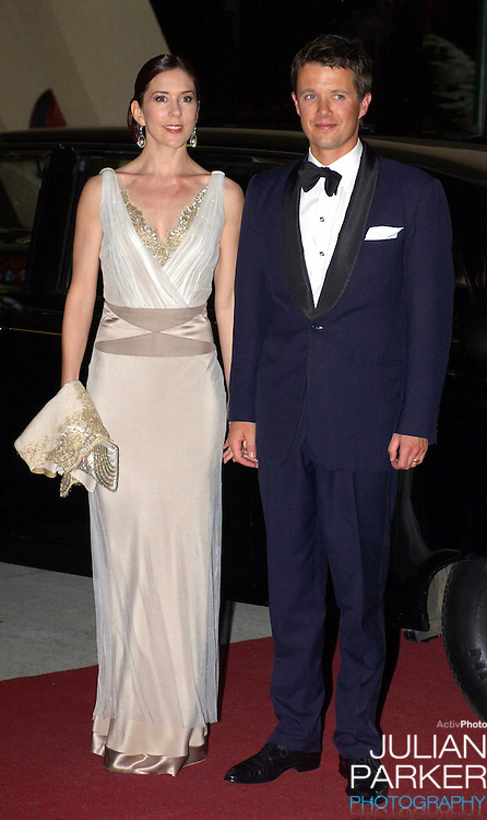 Crown Prince Frederik & Crown Princess Mary of Denmark visit Australia..Save The Children Chocolate Lovers Charity Ball at the Wrest Point Casino in Hobart, Tasmania..