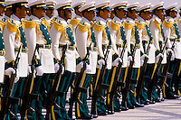Military parade in Riyadh, Saudi Arabia