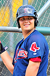 24 July 2010: Lowell Spinners infielder Miles Head awaits his turn in the batting cage prior to a game against the Vermont Lake Monsters at Centennial Field in Burlington, Vermont. The Spinners defeated the Lake Monsters 11-5 in NY Penn League action. Mandatory Credit: Ed Wolfstein Photo