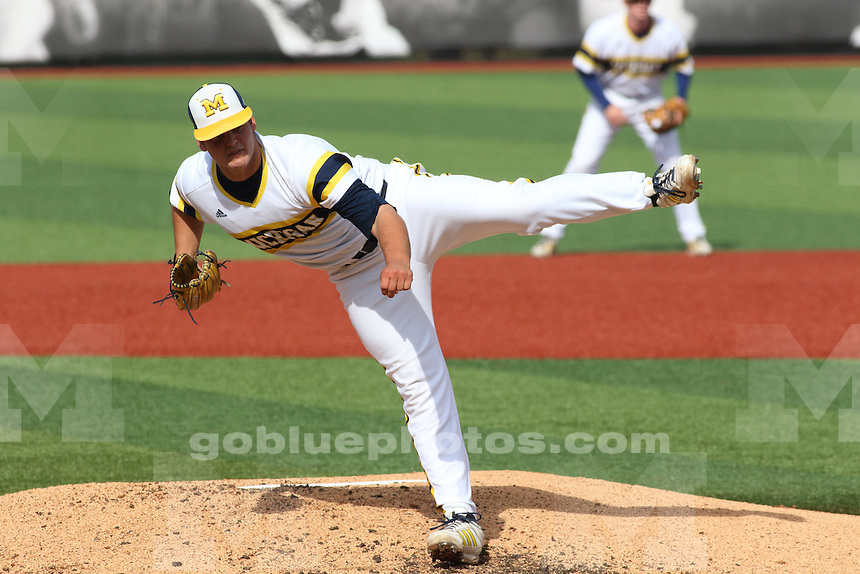 The University of Michigan Baseball team was defeated by Louisville in their second game of the 2015 Louisville NCAA Regional Championship.
