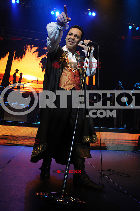 HOLLYWOOD , FL - AUGUST 18: Cristian Castro performs at the Seminole Hard Rock Hotel and Casinos' Hard Rock Live on August 18, 2012 in Hollywood ,Florida. Credit: mpi16/MediaPunch Inc. /NortePhoto.com<br />
