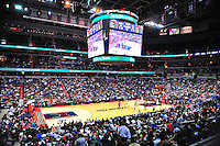 View from the stands. Washington Wizards defeated the Miami Heat 105-101 at the Verizon Center in Washington, D.C. on Tuesday, December 4, 2012.   Alan P. Santos/DC Sports Box