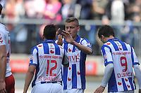VOETBAL: HEERENVEEN: Abe Lenstra Stadion, 05-05-2013, SC Heerenveen - FC Utrecht, Eindstand 2-4, Alfred Finnbogaso, ©foto Martin de Jong