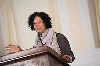 20130325 Author Rebecca Walker speaks at Ira Allen Chapel
