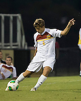 Winthrop University Eagles vs the Brevard College Tornados at Eagle's Field in Rock Hill, SC.  The Eagles beat the Tornados 6-0.  Nick Nova (6)