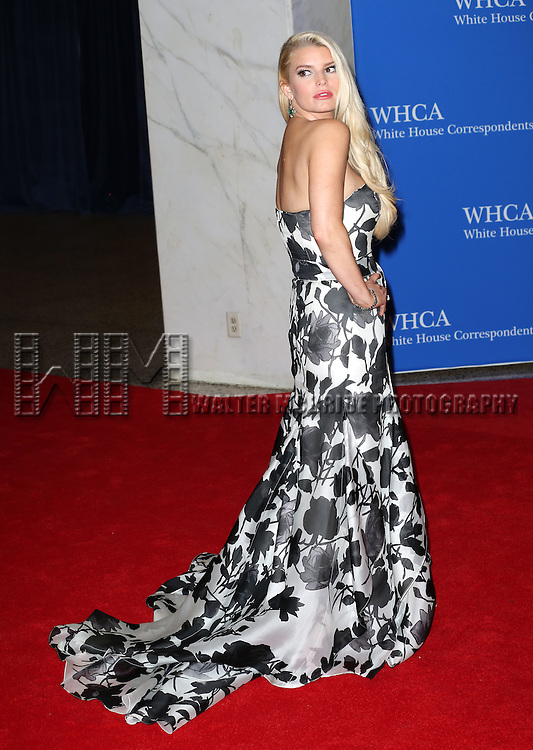 Jessica Simpson attends the 100th Annual White House Correspondents' Association Dinner at the Washington Hilton on May 3, 2014 in Washington, D.C.