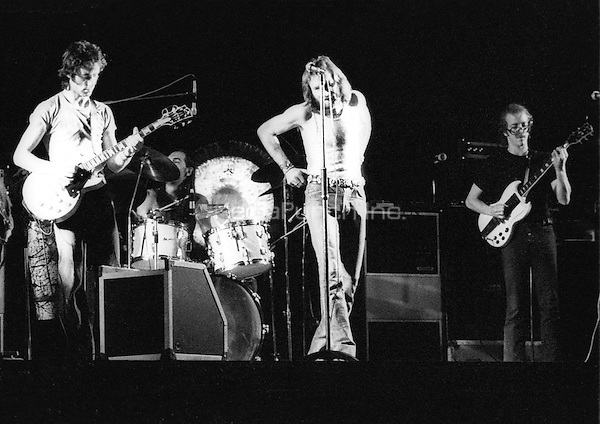 Fleetwood Mac performing in 1973. Credit: Ian Dickson/MediaPunch