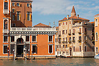 Grand Canal and Palaces - Venice Italy