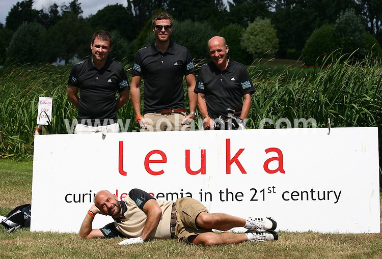 **ALL ROUND PICTURES FROM SOLARPIX.COM**.**WORLDWIDE SYNDICATION RIGHTS**.Celebrities attend The Leuka Mini golf Masters held at The Dukes Meadow Golf Club, Dan Mason Drive Uk..This pic: Rick Edwards and Gianluca Vialli..JOB REF: 11690      LNJ     DATE: 16.07.2010.**MUST CREDIT SOLARPIX.COM OR DOUBLE FEE WILL BE CHARGED**.**MUST NOTIFY SOLARPIX OF ONLINE USAGE**.**CALL US ON: +34 952 811 768 or LOW RATE FROM UK 0844 617 7637**