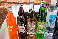 Vintage Soda Bottle Brands, Labels,  Pop and Soft Drinks,1950's, Crush, Vernors, Carousel