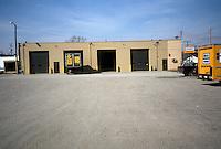 1991 March ..Conservation.MidTown Industrial...EXISTING BUSINESSES.PENSKE TRUCK LEASING.INSIDE PARKING LOT...NEG#.NRHA#..