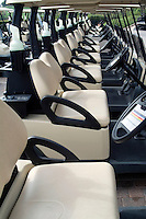 Golf Course, Golf Carts, Interior, Seats, Row, Lined up High dynamic range imaging (HDRI or HDR)