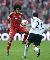 FUSSBALL   1. BUNDESLIGA  SAISON 2012/2013   11. Spieltag FC Bayern Muenchen - Eintracht Frankfurt    10.11.2012 Dante (li, FC Bayern Muenchen) gegen Karim Matmour (Eintracht Frankfurt)