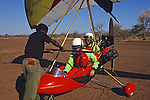 Preparing For Ultra Light Flight Over Victoria Falls