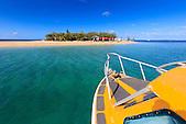 L'île aux Canards en taxi boat, Nouméa, Nouvelle-Calédonie