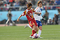 Chiaki Minamiyama (Leonessa), JANUARY 1, 2012 - Football / Soccer : The 33th All Japan Women's Football Championship final match between INAC Kobe Leonessa 3-0 Albirex Ladies at National Stadium in Tokyo, Japan. (Photo by Akihiro Sugimoto/AFLO SPORT) [1080]