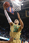 13 March 2015: Notre Dame's Zach Auguste. The Notre Dame Fighting Irish played the Duke University Blue Devils in an NCAA Division I Men's basketball game at the Greensboro Coliseum in Greensboro, North Carolina in the ACC Men's Basketball Tournament semifinal game. Notre Dame won the game 74-64.