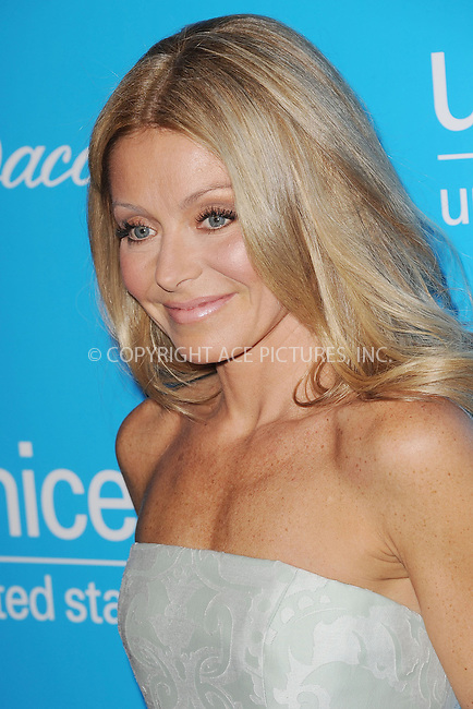 WWW.ACEPIXS.COM . . . . . .November 27, 2012...New York City....Kelly Ripa attends the Unicef Snowflake Ball at Cipriani 42nd Street on November 27, 2012 in New York City ....Please byline: KRISTIN CALLAHAN - ACEPIXS.COM.. . . . . . ..Ace Pictures, Inc: ..tel: (212) 243 8787 or (646) 769 0430..e-mail: info@acepixs.com..web: http://www.acepixs.com .