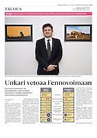 Helsingin Sanomat (leading Finnish daily) on nuclear industry, Hungary, February 2016<br /> Photo: Martin Fejer