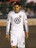 DC United forward Andy Najar. CD Chivas USA beat DC United 1-0 at Home Depot Center stadium in Carson, California on Sunday August 29, 2010.