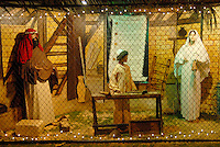 The Santa Monica Nativity Scene:Scene 14 Return to Nazareth - Calvary Baptist Church, on Tuesday, December 12, 2010.