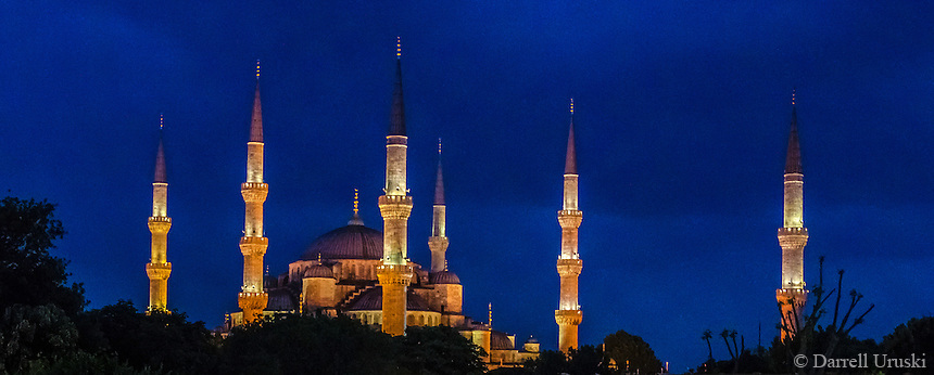 Sultan Ahmed Mosque Known As The Blue Mosque Darrell Uruski