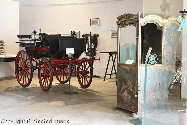 Coach Museum, Evora, Alto Alentejo, Portugal