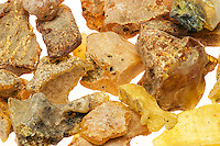AMBER AND COPAL<br /> (Variations Available)<br /> Rough Amber<br /> Rough amber is fossilized tree resin which has been extracted but not refined or polished.