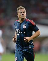 Fussball  International   Audi Cup 2013  Saison 2013/2014   31.07.2013 FC Bayern Muenchen - Sao Paulo FC  Xherdan Shaqiri (FC Bayern Muenchen)