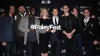 NEW YORK, NY-October 19:Benedict Samuel, Drew Powell, Chris Chalk, Erin Richards, Ben McKenzie, Cory Michael Smith, Donal Logue and Robin Lord Taylor at PaleyFest New York presents Gotham at the Paley Center for Media in New York.October 19, 2016. Credit:RW/MediaPunch