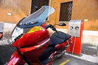 Stazione di rifornimento veicoli elettrici