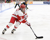 Meghan Riggs (BU - 5) is one of eight freshman on BU's team. - The Boston University Terriers defeated the visiting University of Windsor Lancers 4-1 in a Saturday afternoon, September 25, 2010, exhibition game at Walter Brown Arena in Boston, MA.